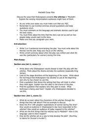 macbeth essay plan witches question worksheet by temperance  macbeth essay plan witches question worksheet by temperance teaching resources tes