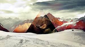 Mountain abstact | selected Priscilla Larson | 3320320618