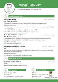 Gallery Of Best Resume Template