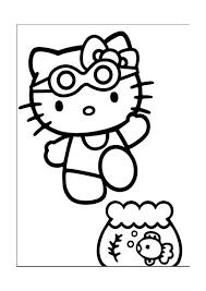 Kleurplaat Hello Kitty 21