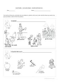 Community Helper Printables Community Helpers Cut Paste Worksheet ...