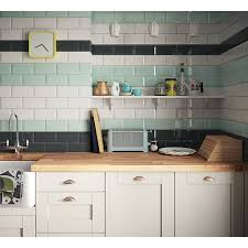 Image Porcelain Use And Keys To Zoom In And Out Arrow Keys Move The Zoomed Portion Of The Image Wickes Wickes Metro White Ceramic Tile 200 100mm Wickescouk