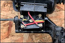 electrical safety and old singer sewing machines part two picture of wiring under vintage singer motor