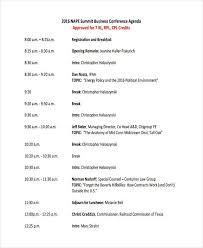 Sample Of Agenda Sample Business Agenda Magdalene Project Org