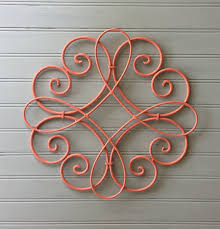 coral wall decor