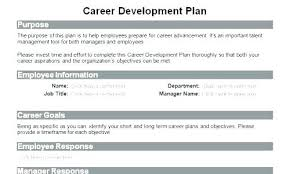 sample career plan career development plan sample template caseyroberts co