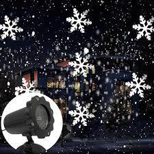 Snowfall Blizzard Led String Light Christmas Snowfall Laser Light Projector Ip65 Moving
