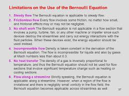 bernoulli 39 s equation pump. 37 limitations on the use of bernoulli equation 1.steady flow 39 s pump
