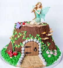 Small Picture The 25 best Fairy garden cake ideas on Pinterest Fairy birthday