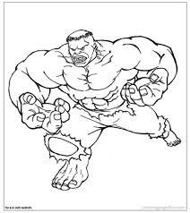 Disegni Di Hulk Da Stampare E Colorare Disegni Da Colorare