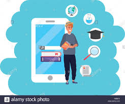 Graphic Design Career Online Education Millennial Young Student Smartphone Account