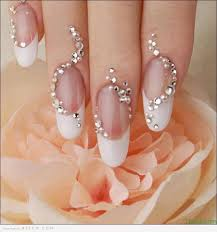 Pretentious Baby Pink Nails In French Tip Nail Art Latest French ...