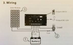 solar power kits flexible 100w solar panel kit 1 solar charge controller wiring2