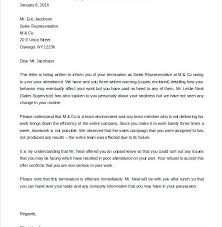 Employee Termination Letter Template Free Gorgeous Sample Termination Letter Without Cause 48 Luxury Distribution