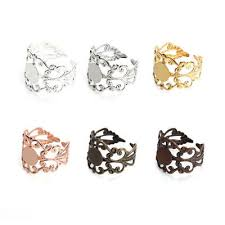 8mm 10pcs golden ring rondelles loose spacer beads metal crystal for jewelry making diy accessories
