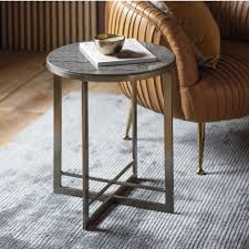 gallery necton silver side table