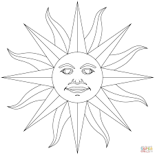Small Picture Inti Incan God of Sun coloring page Free Printable Coloring Pages