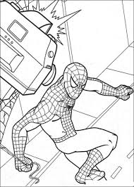 Small Picture Spider man On Camera coloring page Free Printable Coloring Pages