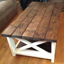 rustic coffee tables our sweetheart table is a beautiful handcrafted available in custom colors and white