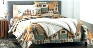 plaid flannel comforter ralph lauren duds set post red duvet cover