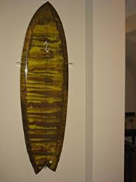 Surfboard Wall Racks - Vertical Wall Display, Clear Acrylic, for  Swallow/Fish tail