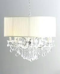 crystal chandelier beaded 6 light shaded