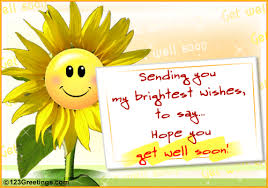 A 'Get Well Soon' Message. Free Get Well Soon eCards, Greeting ...