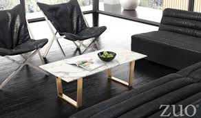 Zuo Modern Coffee Table Atlas Modern Coffee Table In Stone Gold By Zuo Getfurniture