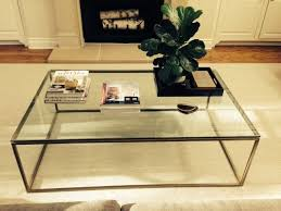 powdercoated rod coffee table frame