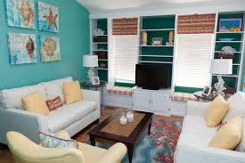 aqua living room. aqua living room tropical with cream sofa coral lamp i