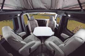 2016 roadtrek n6 active front quad captains chairs and table