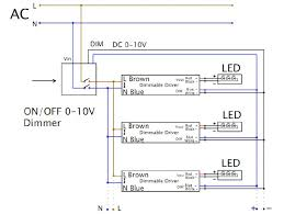 led high bay wiring diagram 0 1 10v dimmable led tri proof lighting al housing 1500mm 60w 0 10v dimmalbe wiring