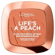 l oréal paris blush powder life s a peach 9g image 1