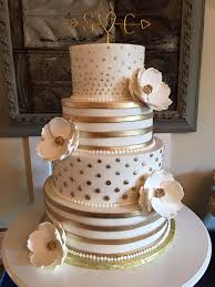 Beautiful Wedding Cakes By The Baking Grounds Bakery Café