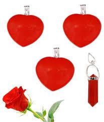handicrafts beautiful red jasper love heart pendant with pencil pendant