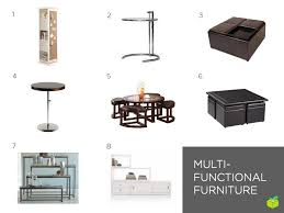 furniture for tiny spaces. numbers correspond with the products listed below furniture for tiny spaces e