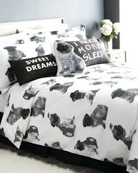 um image for fun duvet covers quirky duvet covers uk pugs are playful and cuddly so