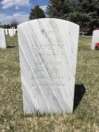 Eloise Marcella Hancock Peak (1915-2001) - Find A Grave Memorial
