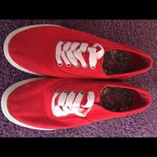 Fake Vans Red Target Fake Vans