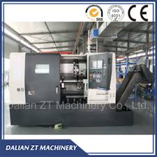 Precision Machine And Design Hot Item China Precision Cnc Slant Bed Cnc Lathe Horizontal Cnc Lathe Cnc Turning Center With Taiwan Quality Design Sl 166 Sl 208 Sl 258 Sl 260