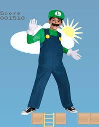 Elegant Child Luigi Costume