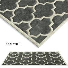 tufted dark grey area rug model solid gray
