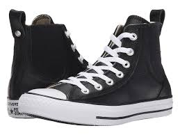 converse chuck taylor all star chelsee leather black white uk sku 6565196