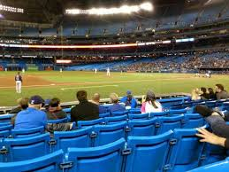 Rogers Centre Section 127l Home Of Toronto Blue Jays