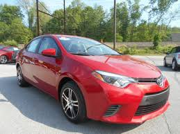 2015 toyota corolla red. 2015 toyota corolla 4dr sedan cvt le click to see fullsize photo viewer red