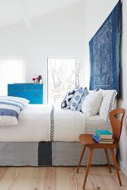 Modern Farmhouse Bedroom A Modern Farmhouse With Mid Century Accents Presents A Fresh White