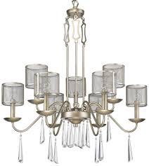 rita washed gold teardrop crystal chandelier 29 wx34 h