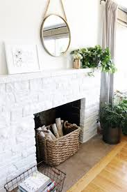 lessons from a white painted fireplace makeover