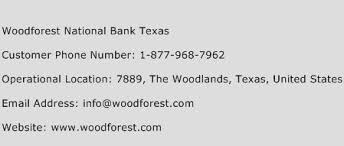 Woodforest National Bank Customer Service Phone Number Woodforest National Bank Texas Phone Number Woodforest