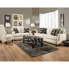 Living Room Loveseats Sax Living Room Sofa Loveseat Grey 3297032844 Conns